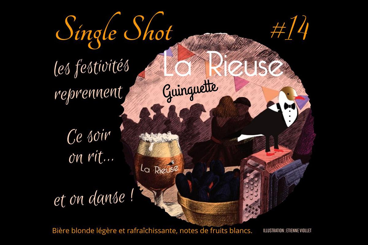 """Single Shot """"#14 GUINGETTE"""""""