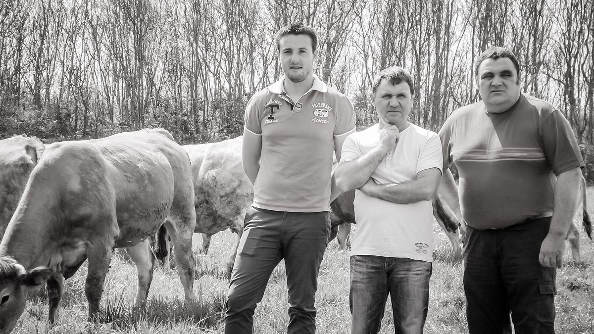 Frédéric, Nicolas FRANCOIS et Brice BOUJU