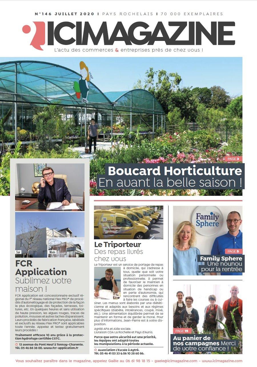 ICI Magazine Panier de Nos Campagnes Juillet 2020