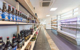 Rayon Bieres, alcools et produits frais