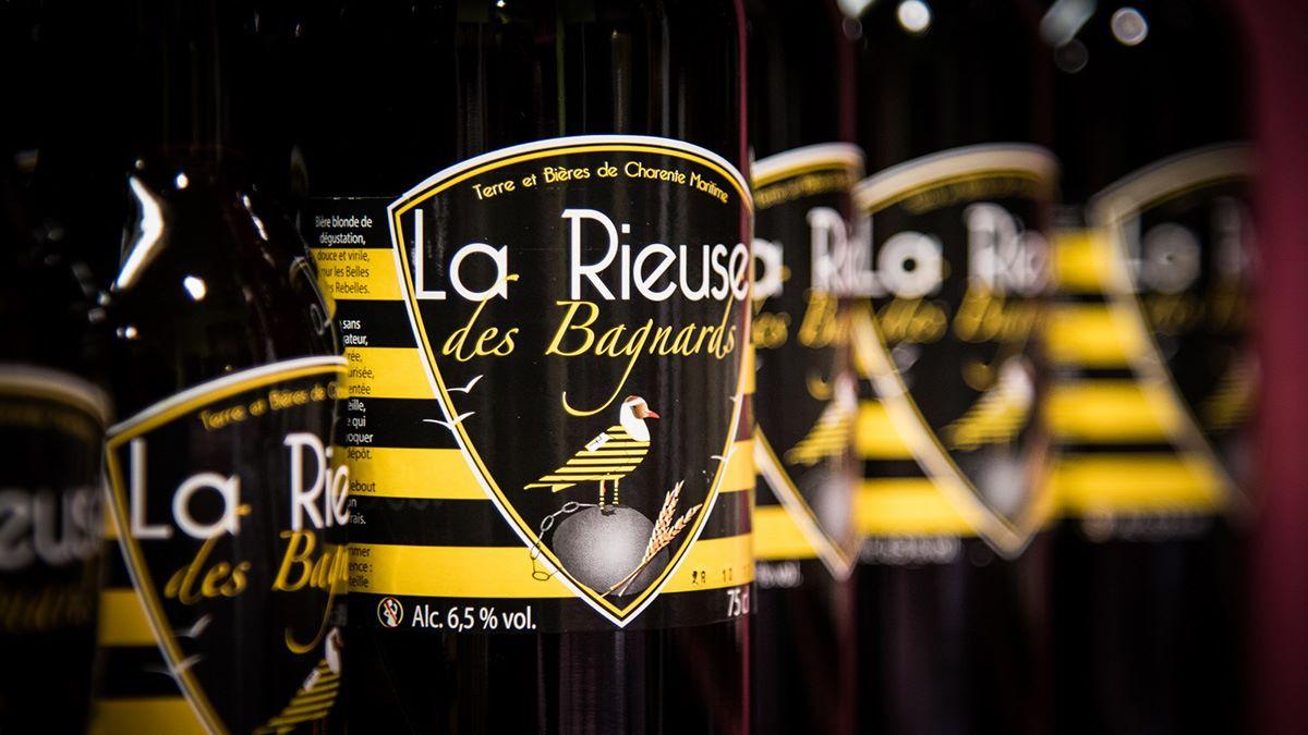 Bières La Rieuse des Bagnards