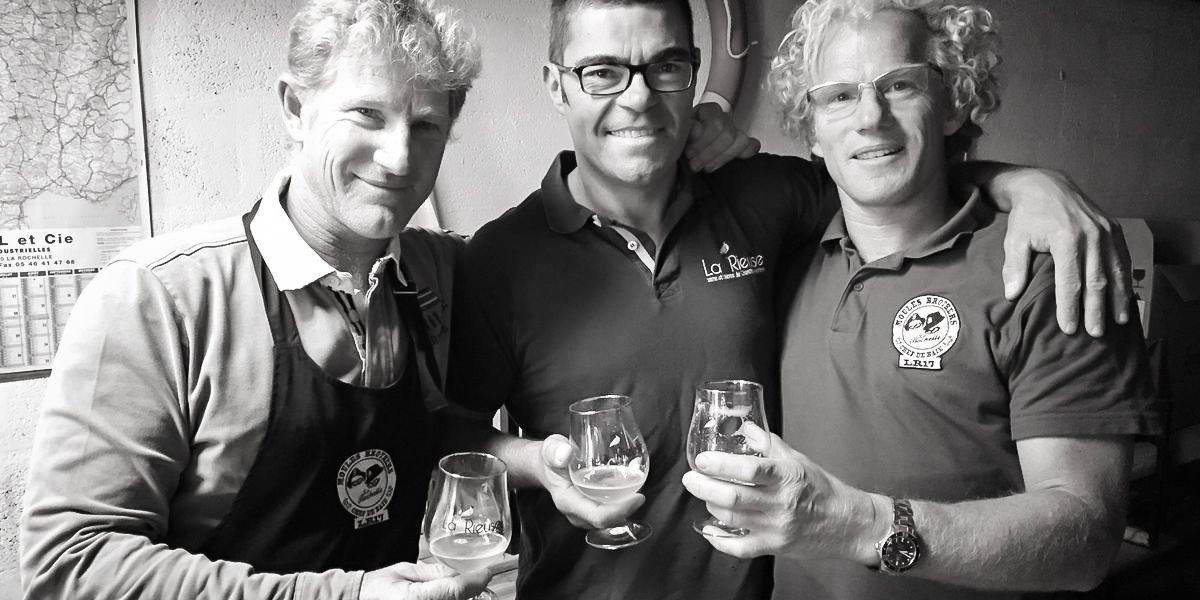 Bière Moule Spirit par Arnaud Clavurier et les frères Durivaud