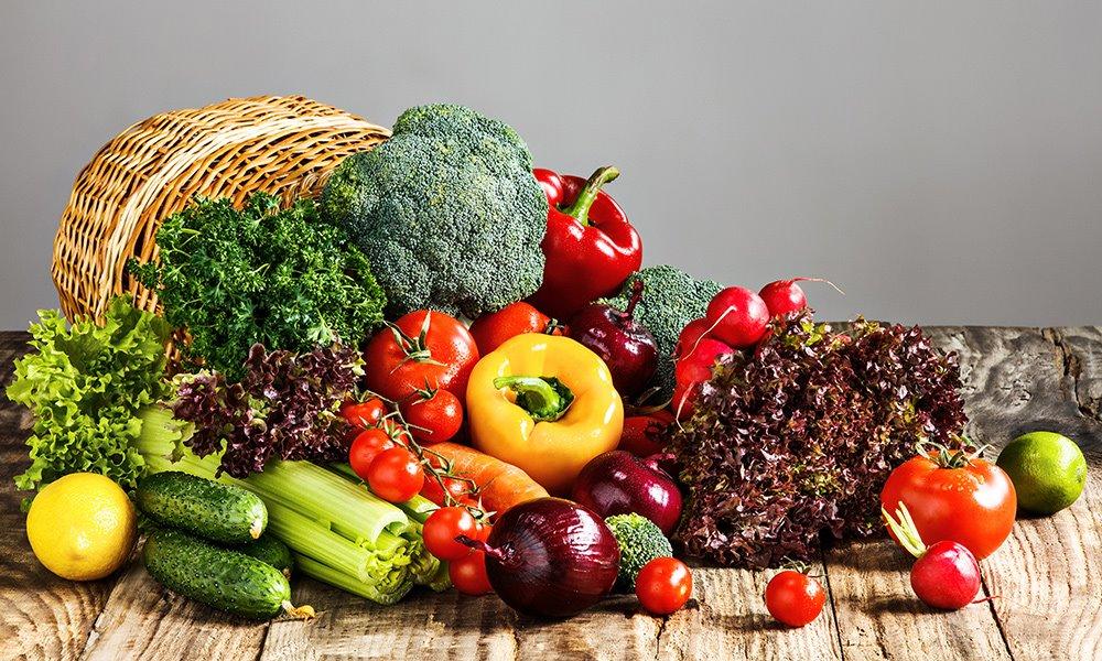 Légumes d'été et légumes d'automne