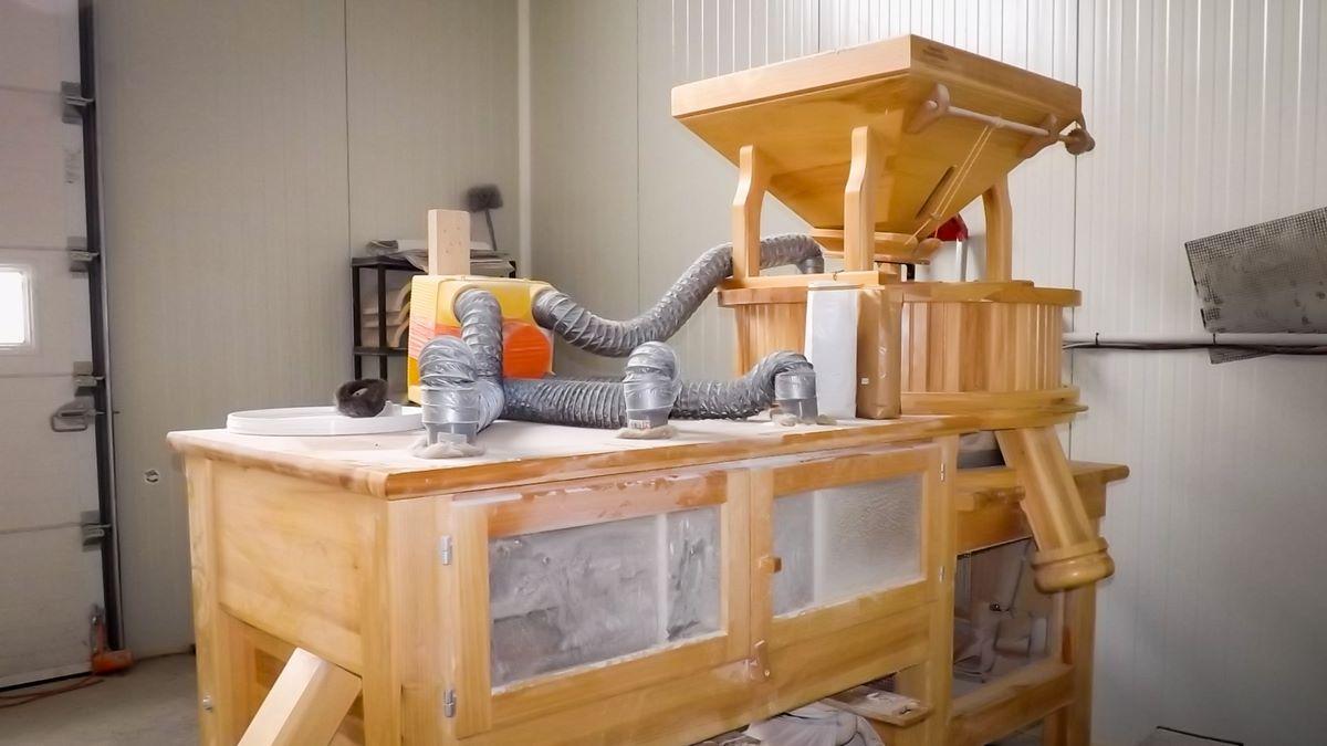 Moulin pour faire de la farine
