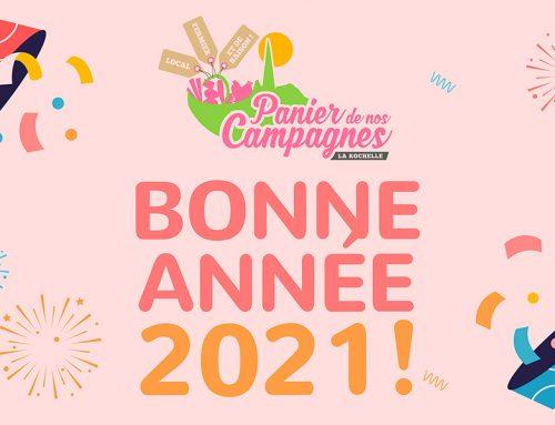 Tous nos meilleurs vœux pour 2021!