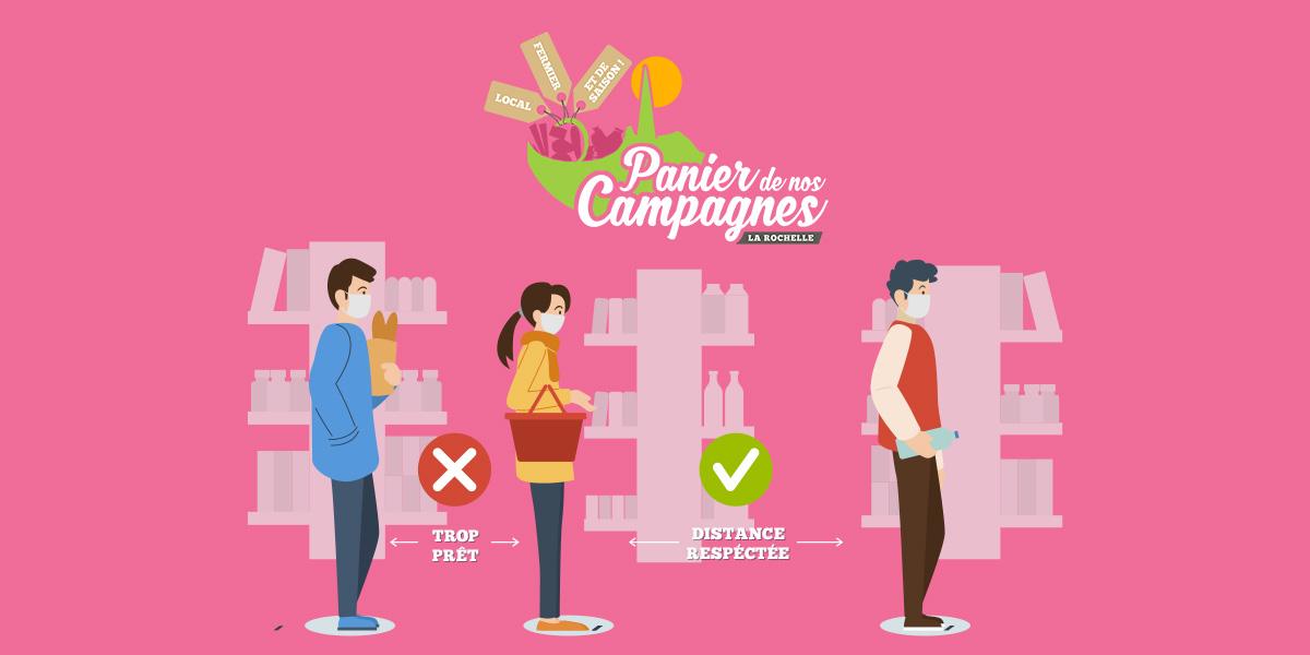 Déconfinement et gestes barrieres à Panier de Nos Campagnes