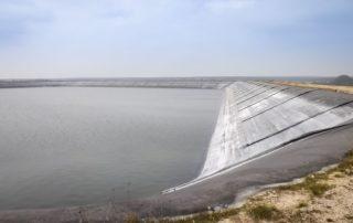 Plan d'eau pour irrigation