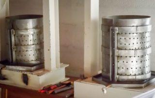 Pressoir pour fabrication de l'huile