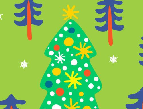 et c'est parti pour les sapins de Noël chez PDNC!